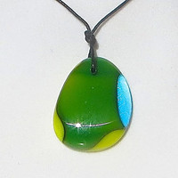Glass Necklace Summer in the Valley by The Wild Willows