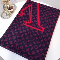 Perfect Louis Vuitton Women Wool Scarf Shawl Scarf