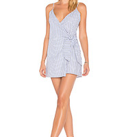 Lovers + Friends X REVOLVE Julian Dress in Jet Set Stripe | REVOLVE