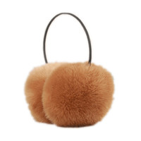 Faux Fur Ear Muff with Thin Band