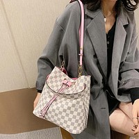 Louis Vuitton LV Women Leather Crossbody Shoulder Bag