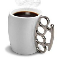 Fred & Friends FISTICUP Ceramic Knuckleduster Mug