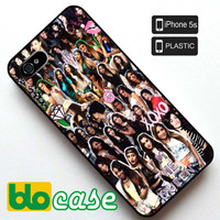 Fifth Harmony Collage Iphone 5S Plastic Case
