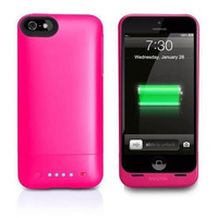 Mophie Juice Pack Helium Battery Case for iPhone 5/5s - Hot Pink