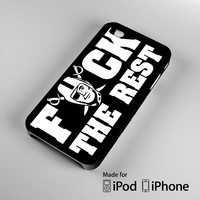 Oakland Raiders NFL Fuck The Rest A0087 iPhone 4 4S 5 5S 5C 6, iPod Touch 4 5 Cases