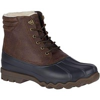 Men's Avenue Winter Duck Boot in Brown & Black by Sperry