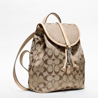 Coach :: Signature Small Backpack