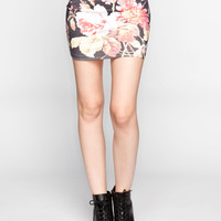 NEFF Disney Collection Floral Skirt | Short Skirts