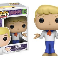 Fred Scooby Doo Funko Pop! Figure #153