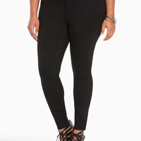 Jegging Pant - Black All-Nighter Ponte