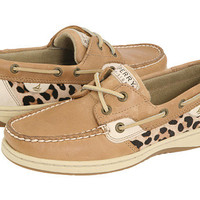 Sperry Top-Sider Bluefish 2-Eye Linen/Leopard Pony - Zappos.com Free Shipping BOTH Ways