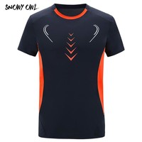 Lovers Summer Multiple Color Outdoor Sports Female T Shirts Short Sleeve Men Clothing Quick -Dry Breathable O-neck T-shirts h49