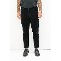 Corduroy Jean Pant in Black