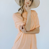 Free People: Cassidy Tee (Orange)