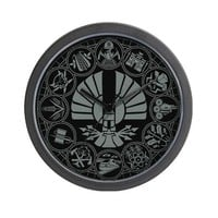 The Hunger Games Wall Clock on CafePress.com