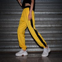 Women Loose Show Thin Fashion Multicolor Leisure Pants Trousers  Sweatpants