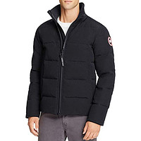 Canada Goose Woolford Slim Fit Down Bomber Jacket Navy
