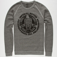 Imperial Motion Conquer Mens Sweatshirt Heather Grey  In Sizes