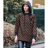 FENDI Woman Men Fashion Top Sweater Pullover Hoodie