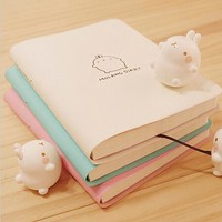 Fromthenon 2017-2018 Cute Kawaii Notebook Cartoon Molang Rabbit Journal Diary Planner