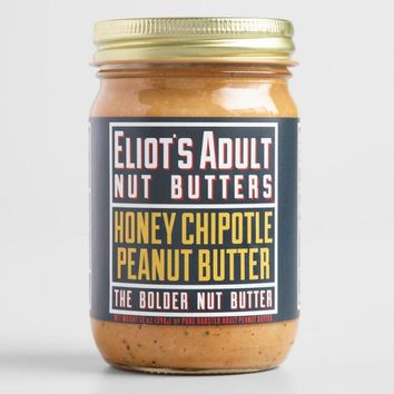 Eliotfts Adult Nut Butters Honey Chipotle Peanut Butter