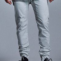 Bullhead Denim Co. Overdyed Slouched Skinny Jogger Pants at PacSun.com