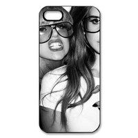 Lady Gaga & Lana Del Rey iPhone 5 Case Black and White iPhone Case for 5
