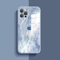 Apple 12 mobile phone case iPhone11Promax new glass xr/xs ultra-thin 6/7/8plus personality se set