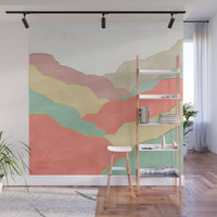 Minimal Landscape collection 03 Wall Mural by marcogonzalez