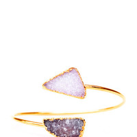 Double Drusy Cuff