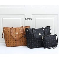 MCM Reversible Liz Shopper in Visetos-2