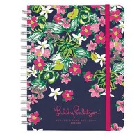 Lilly Pulitzer 2013-2014 Large Agenda - Tiger Lily