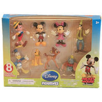 Disney Figure Mickey Mouse and Friends Figurines Set at TFAW.com