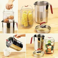Stainless Steel Multi-Pot - Fresh Finds - Cooking > Cooking & Baking