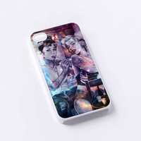 Audrey Hepburn and Marilyn Monroe Tattooed iPhone 4/4S, 5/5S, 5C,6,6plus,and Samsung s3,s4,s5,s6