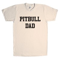 Pitbull Dad Unisex T Shirt