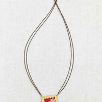 Geography 541 X Urban Renewal Woven Patch Necklace
