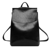 Early Lilac Designer Backpack Women High Quality Pu Leather Sac a Interior Bag Bolsos Shoulder School Bags For Teenage Girls