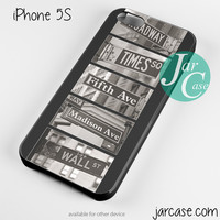 New York Street Signs Phone case for iPhone 4/4s/5/5c/5s/6/6 plus