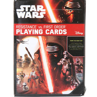 Star Wars: The Force Awakens Resistance Vs. First Order Playing Cards