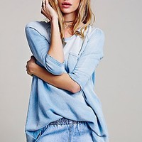 Free People Womens Tanna Peached Out Bliss Tunic