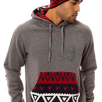 The Alpiner Pullover Hoody in Charcoal Heather