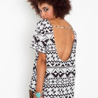 Aztec Tail Tee in Clothes at Nasty Gal