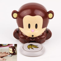 Portable Cute Monkey Hand Nail Art Tips Polish Dryers Blower Manicure Care (Size: 1) = 1706149444