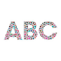 Caleb Troy Indie Mute Decorative Letters