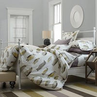 Chilling Out Flannel Duvet Cover and Sham