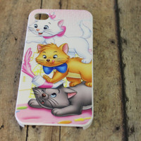 aristocats, cats, black, white, orange, kittens, classic disney movie, Marie,  iPhone 4/4s No.4-29 by Hot2own