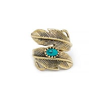 DailyLook: Natalie B Light As A Feather Ring in Turquoise
