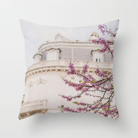 Paris is always a good idea Throw Pillow by Hello Twiggs