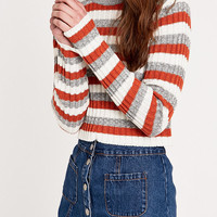 Cooperative by Urban Outfitters - Pull rayé orange et gris - Urban Outfitters